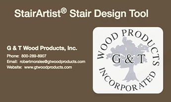 G&T Wood Products | Stair Artist